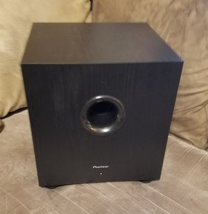 Pioneer Home Theater Subwoofer for Sale in Palm Bay, FL