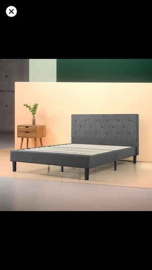 Quilted bed frame! for Sale in Pittsburgh, PA