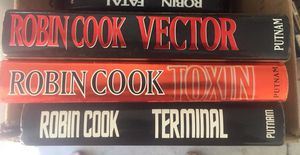 Robin Cook Hardcover books for Sale in Findlay, OH