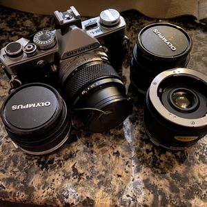 Vintage Olympus OM-1 Film 1970's Camera And Lens for Sale in Escondido, CA
