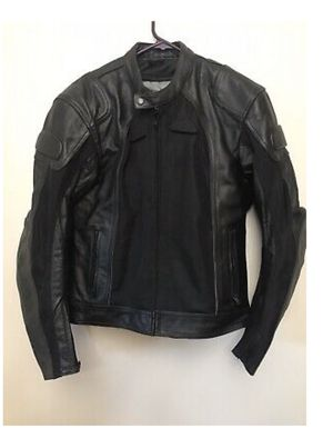 Bilt BLL4 Leather/Mesh Men's Motorcycle Jacket with Removable Liner (USA 42) M-L for Sale in Stafford, TX
