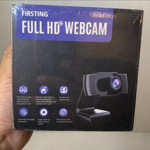 Full HD Webcam With Microphone for Sale in San Bernardino, CA