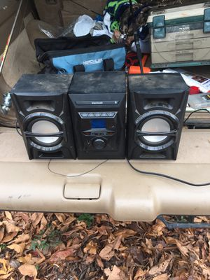 Black web party speakers Bluetooth for Sale in Byron, GA