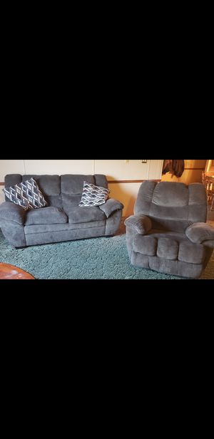 Couch + recliner for Sale in Pittsburgh, PA