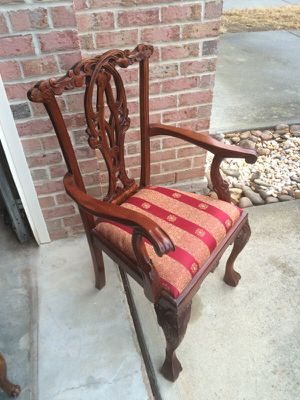 Chippendale chair for Sale in Durham, NC