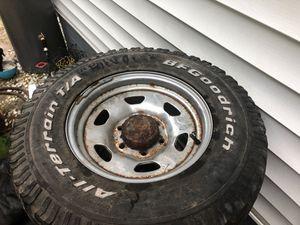 88 Toyota Land Cruiser wheels (5) for Sale in Virginia Beach, VA