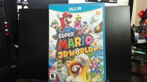 WII U GAME SUPER MARIO 3D WORLD NINTENDO SELECTS - Perfect Condition! for Sale in Lake Elsinore, CA