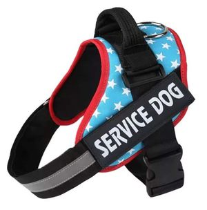 Service Dog Harness Blue With Stars Vest BRAND NEW All Sizes XS S M L XL XXL for Sale in Tampa, FL