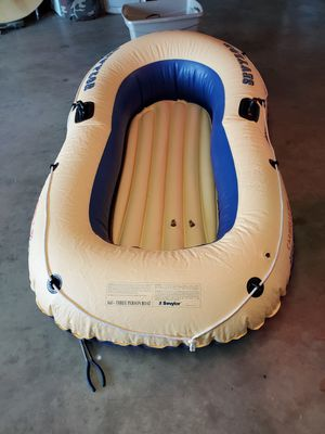 Inflatable boat 3 person for Sale in Ontario, CA