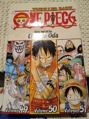 One Piece manga Volumes 49-50-51 for Sale in Chicago, IL