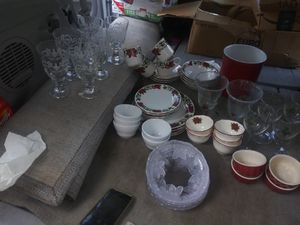 Holiday dishes and glassware for Sale in Tampa, FL