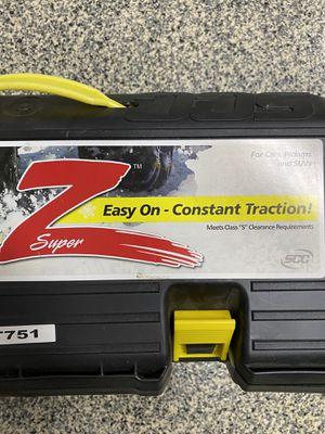 Super Z - ZT751 tire traction chains for Sale in Covina, CA