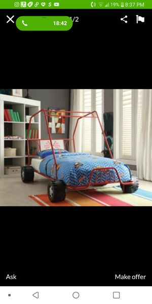 Twin bed frame (car) for Sale in Montclair, CA