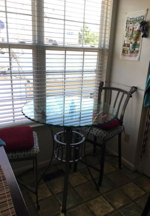 High table and 2 chairs for Sale in Sterling, VA