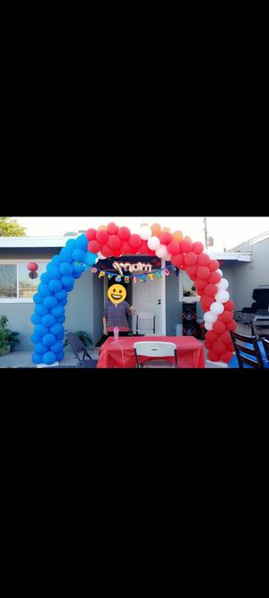 4th of July balloon decor for Sale in Las Vegas, NV