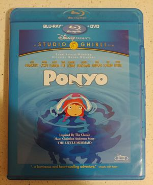 PONYO (BLU RAY + DVD) ***SEE OTHER POSTS*** for Sale in El Cajon, CA