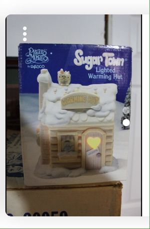 Christmas Precious Moments Sugar Hut Light Up for Sale in Manchester Township, NJ
