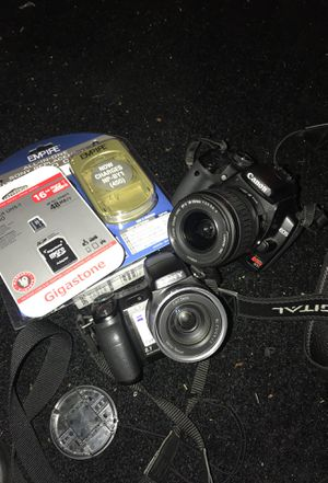 Sony and canon camera (Low Price) for Sale in Orlando, FL