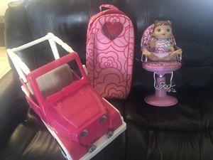 Doll stuff for Sale in Casa Grande, AZ