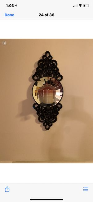 2 wall prism sconces for Sale in Staten Island, NY