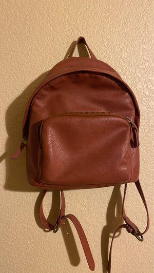 Reddish Brown leather mini backpack for Sale in Glendale, AZ