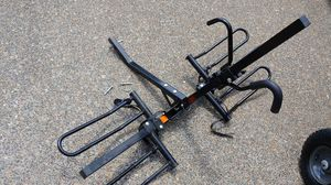 Hitch Mount bicycle rack holds two bikes Pro series for Sale in Aloha, OR