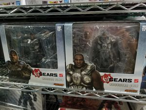 Storm Collectibles Gears of War Marcus Fenix / Augustus Cole for Sale in Ontario, CA
