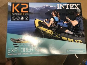 New inflatable 2-person kayak for Sale in Seattle, WA
