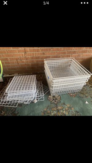 Metal drawers shelving for Sale in Sycamore, IL