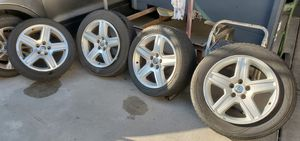 2006-2010 Dodge Charger-Magnum-Chrysler 300c OEM/Mopar Aluminum 5 Spoke Wheels & Tiers for Sale in Los Angeles, CA
