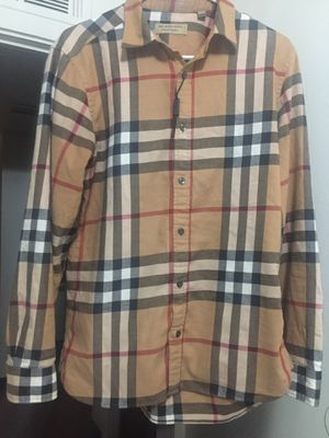 Burberry long sleeve shirt for Sale in Pittsburgh, PA