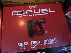 Milwaukee nail gun for Sale in Cottage Grove, MN