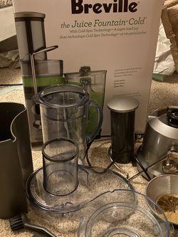Breville Juicer Fountain Cold for Sale in Alexandria,  VA