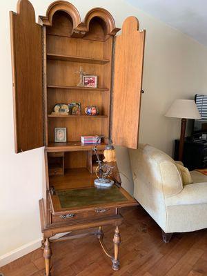 Vintage Tomlinson Tall Secretary Desk for Sale in Mesa, AZ