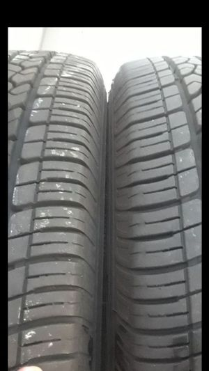 2 Tires Goodyear 235/65r18 like new for Sale in Herndon, VA