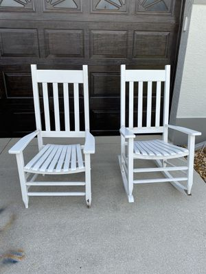 White outdoor chairs for Sale in Cape Coral, FL