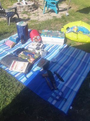 Tent and camping supplies. With tent I want 250. for Sale in Londonderry, NH