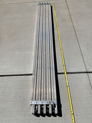 Plank aluminum Expandable from 8 ft -13 ft for Sale in Troy, MI