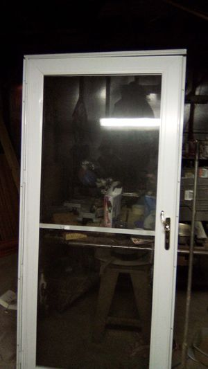 All glass screen door for Sale in Oklahoma City, OK