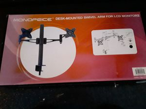 Dual monitor desk stand for Sale in Austin, TX