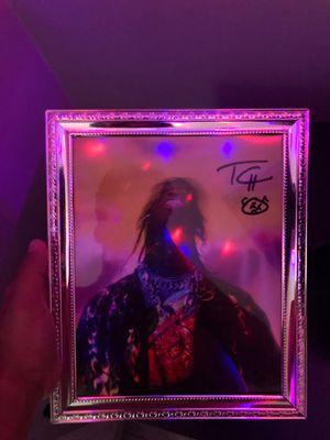 Travis Scott authentic autograph for Sale in Hingham, MA