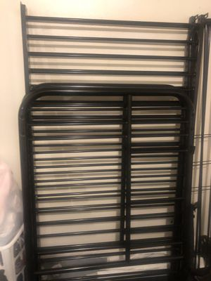 Twin metal bunkbed for Sale in Lancaster, CA