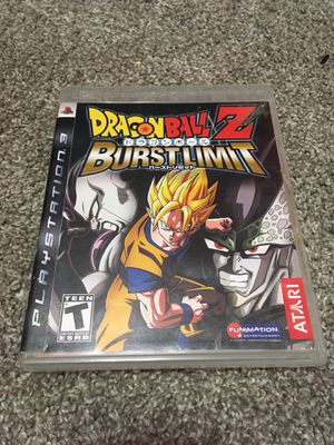Dragon Ball Z Burst Limit For PS3 for Sale in Glen Burnie, MD