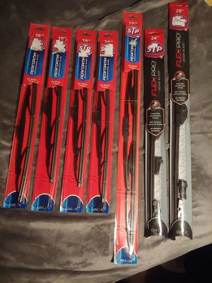 New - STP wiper blades (Multiple Sizes 16-28) for Sale in Grants Pass, OR