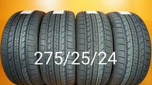 4 New tires 275/25/24 Llantas nuevas for Sale in Chula Vista, CA