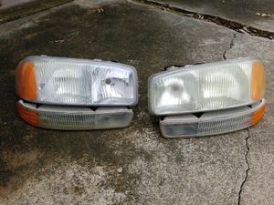 Headlights and parking lights for Yukon or Yukon XL for Sale in Dallas, TX