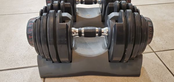 BOWFLEX Dumbbells adjustable weight 552