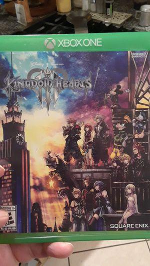 Kingdom Hearts 3 for Sale in Riverside, CA