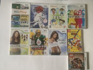 Nintendo Games Wii, switch, Nintendo 3DS for Sale in Miami, FL