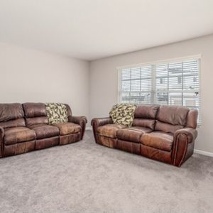 Leather Couches-used FREE to Pick Up for Sale in Minooka, IL